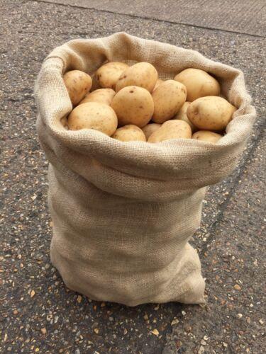 5 x 50 kg extra large de Hesse jute Graine De Pommes De Terre Légumes Café Stockage Sacs Sacs NOUVEAU