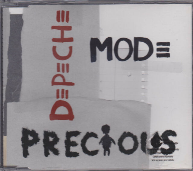 DEPECHE MODE Precious Maxi CD 2005 * Dave Gahan * SASHA * TOP