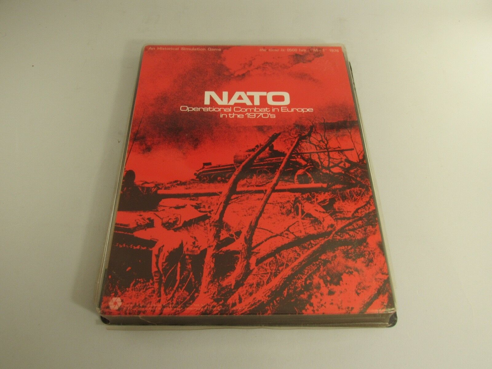 Vintage SPI NATO Operational Combat In Europe In The 1970's War Game