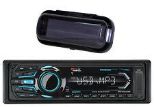 Boss Audio Bluetooth MP3 USB iPod Marine Stereo Radio Player & Radio Cover