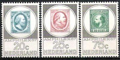 Postfrisch Kunden Zuerst Briefmarken Kraftvoll Niederlande Nr.880/82 ** Amphilex 1967