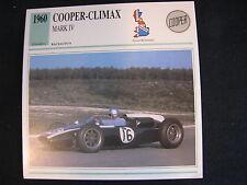 Card 1960 Cooper-Climax Mark lV (Nederlands) (CC)