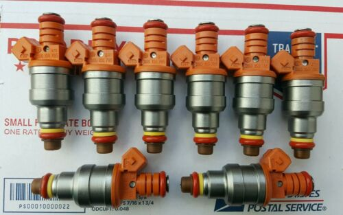 UPGRADE 30 lbs Fuel Injectors Ford Chevrolet Pontiac Camaro Mustang BOSCH Set 8