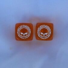 Harley Davidson Willie G Gaming Dice Set Of Two Dice  New Design