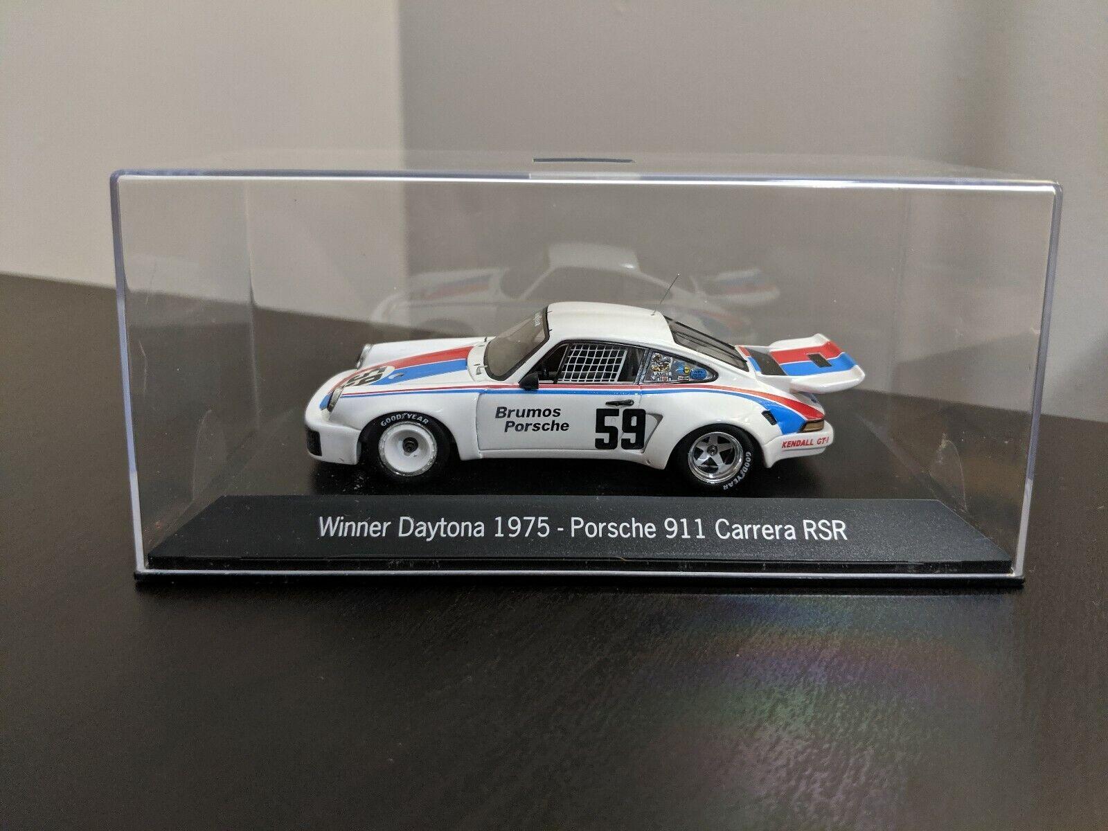 RARE Porsche 911 Carrera RSR Winner Daytona 1975  59 1 43