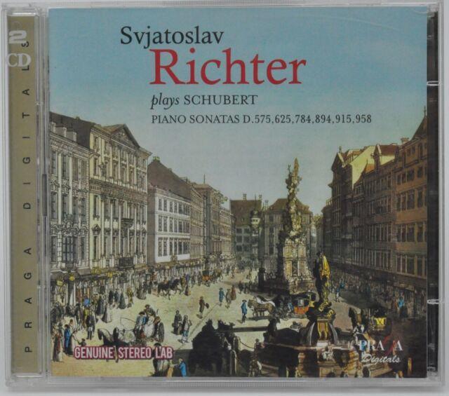 Svjatoslav Richter : Plays Schubert - Piano Sonatas - 2 CD