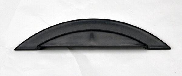 VW Jetta Bora MK4 99-04 Black Front Hood Badgeless Hood Notch Gap Filler