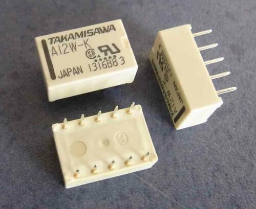 1x UM Fujitsu//Takamisawa Printrelais 12V 1A 100x A-12W-K