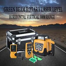 Fascio Verde Livello automatico autolivellante Laser Rotary 500M ambito 2KG