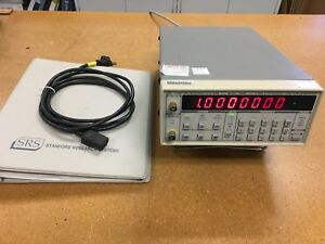 Stanford-Research-DS340-Function-Generator-Opt-1-w-manual-Used-Tested-Ships-Free