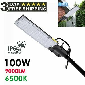 100W-LED-Road-Street-Flood-Light-Garden-Spot-Lamp-Head-Outdoor-Yard-Cool-White-S
