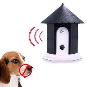 Ordonné Outdoor Ultrasons Anti Aboiement Contrôle Appareil Chien Pet Stop Barking Training-afficher Le Titre D'origine