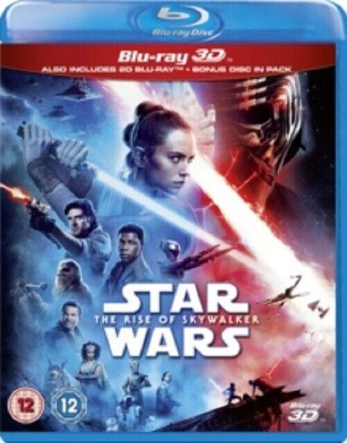 Star Wars The Rise of Skywalker (Daisy Ridley) New 3D + 2D Region B Blu-ray