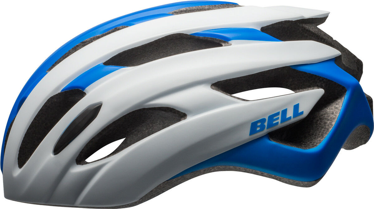 Bell Event Rennrad Fahrrad Helm weiß blau 2017