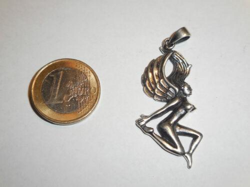 Anhänger Kette ENGEL nackt Schutzengel ECHT Silber 925 Lichtwesen Nymphe SS12