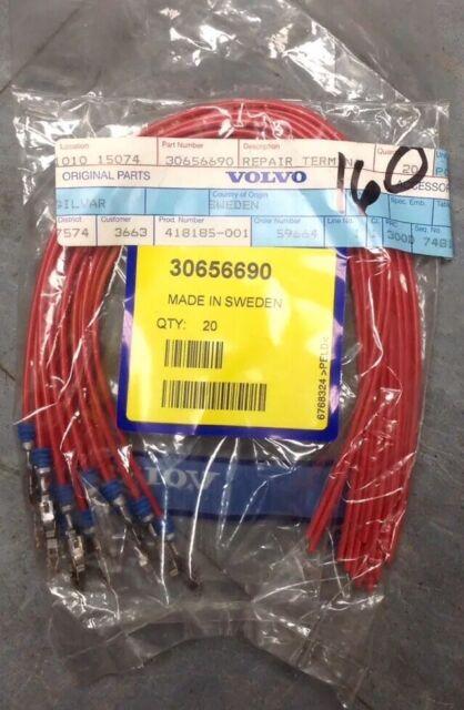 30656690 - Wiring Harness Repair Terminal Kit- Volvo OEM Shb1 for sale  online | eBay | Volvo Wiring Harness Repair |  | eBay