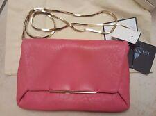 Lanvin Mai Thai Lambskin Leather envelope Clutch bag FUCHSIA shoulder  bag