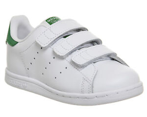 the latest 0ab8f 6662e Chargement de l image en cours Kids-Adidas-Stan-Smith-CF-TD-3-9-