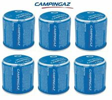 6 X Campingaz C206 GLS Gas Locking System Piercing Camping Gas Cartridge