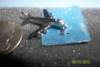 Sterling Silver - Wells 3d Air Plane Charm Pendant