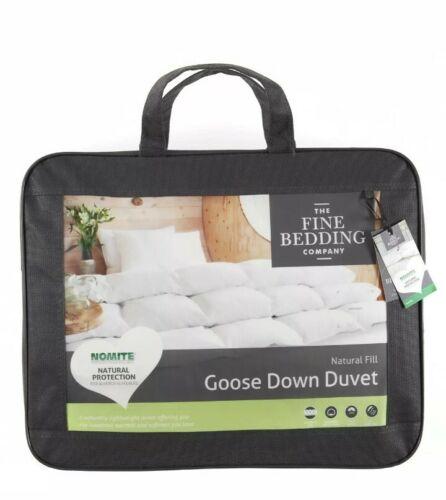 Fine Bedding Company Goose Down Natural Duvet Quilt Kingsize 10.5 tog 5019338167229
