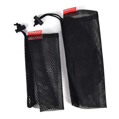 Nylon Mesh Drawstring Bag for Cutlery Bottle Pot Pan Kettle Mesh Storage BJB