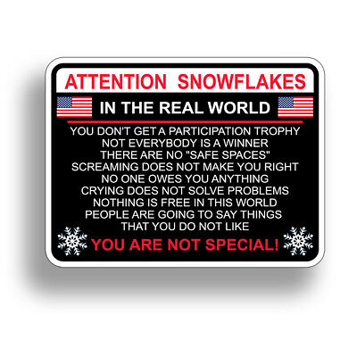 Not My President Bumper Sticker Decal Political Trump FOR Window Car Truck
