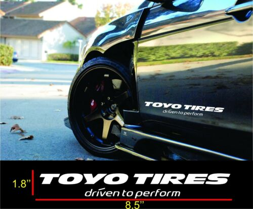 Toyo Tires Decals vinyl Windshield Banners Car Stickers Graphics 2
