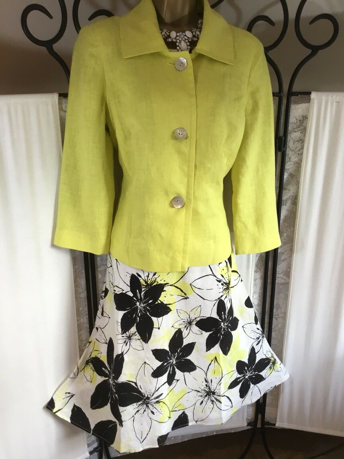 Beautiful Planet Mother of the Bride/Groom Dress & Jacket Size 12