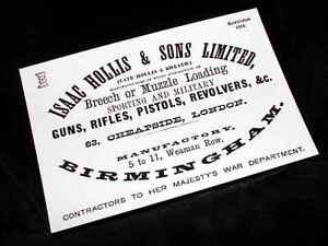 ISAAC HOLLIS GUNMAKER GUN CASE LABEL repo Gun Maker - Blaydon, Tyne and Wear, United Kingdom - ISAAC HOLLIS GUNMAKER GUN CASE LABEL repo Gun Maker - Blaydon, Tyne and Wear, United Kingdom