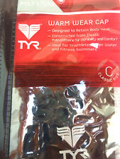 Open Water /& Fitness Swimmers ! TYR Warm Wear Silicone Swim Cap For Triathletes