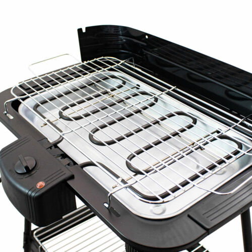 Bituxx Kompakter Elektrogrill Standgrill Balkongrill Gartengrill Grill 2000 Watt
