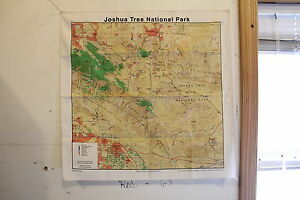 Joshua Tree Topographic Map.Joshua Tree National Park Topographical Map Bandana 100 Cotton