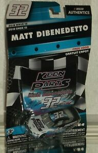 Matt Dibenedetto #32 Keen Parts Wave 10 Nascar Authentics 2018 Ford Fusion 1:64