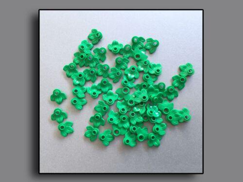 Lego Steine Pflanzen 32607-50 x Blätter hellgrün