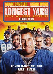 NEW-DVD-THE-LONGEST-YARD-Adam-Sandler-Chris-Rock-Burt-Reynolds-Nelly-Jam