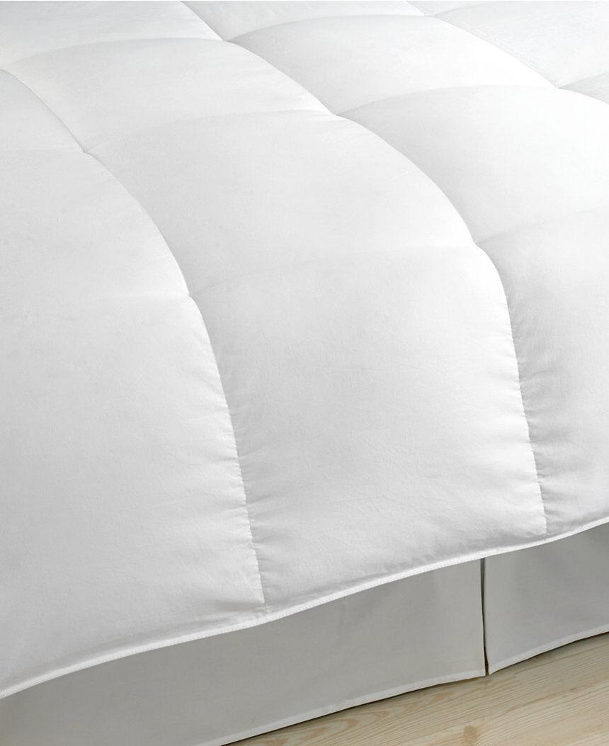 bleu Ridge 1000 Thread Count Egyptian blanc Down Comforter blanc King A1123