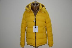 Image is loading Moncler-Brique-Goose-Down-amp-Feather-Filled-Hooded-
