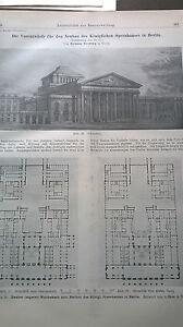 1912 26 Opéra Berlin Partie 4-afficher Le Titre D'origine Amener Plus De Commodité Aux Gens Dans Leur Vie Quotidienne