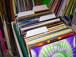 20-x-Filotrax-Vinyl-LP-12-034-Plastic-Record-Dividers-White