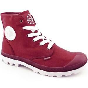 NEW-IN-BOX-PALLADIUM-Blanc-Hi-Unisex-RioRed-White-Lace-Up-Hiking-Boots