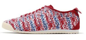 save off de82c 209a1 Details about Asics Onitsuka Tiger Mexico 66 Knit Red Blue Unisex Men 9  Womens 10.5 EUR 42.5