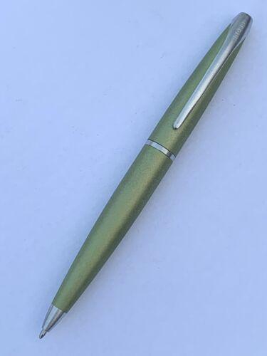 Cross ATX Soltice Kugelschreiber grün Beschläge Gebürstet Drehkugelschreiber