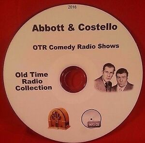Abbott-amp-Costello-Comedy-OTR-104-MP3-CD-Old-Time-Radio-Shows