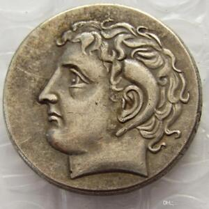 Ancient-Greek-Silver-Didrachm-Coin-from-Kyrene-308-BC