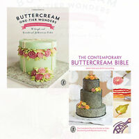 Valeri Valeriano Collection 2 Books Set Buttercream One-Tier Wonders NEW English
