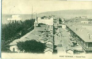 POSTCARD-EGYPT-PORT-TEWFIEK