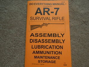 armalite ar 7 survival rifle owners manual 31 pg ebay rh ebay com armalite eagle 15 owners manual