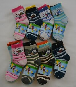 5-Pairs-Girls-Boys-Childrens-Baby-Designer-Character-Socks-Kids-Socks