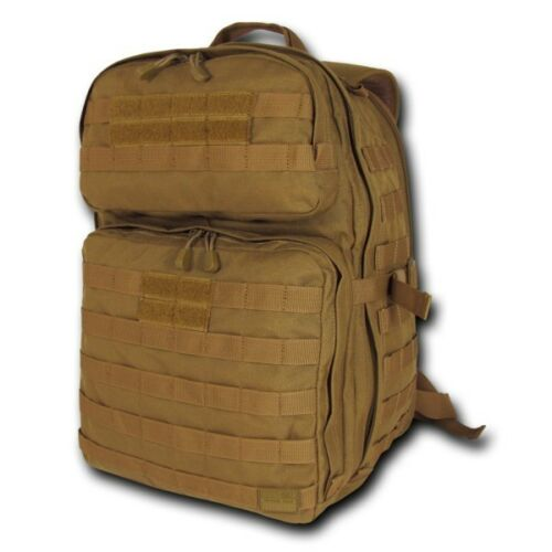 Brown Lethal 24,1 Day Assault Tactical Pack Bag Military Army Hiking Backpack